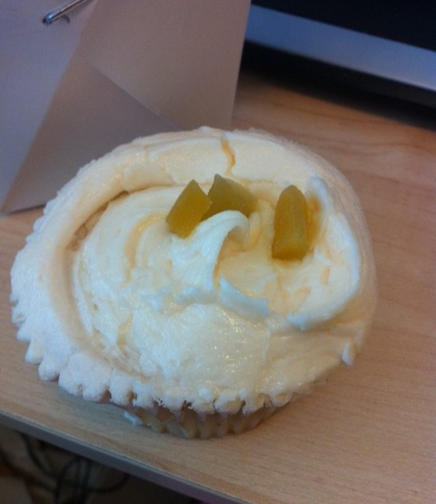 Humming bird cupcakes - flavour of the day