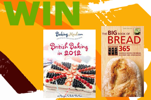 COMPETITION TIME! WIN Eric Lanlard & Anne Sheasby Book! The Mother's day Bake off!