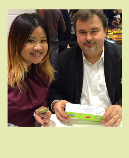 Meeting Pierre Herme Selfridges book and box signing