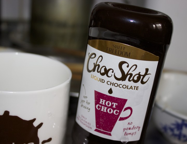 A choc shot of chocolate liquid love <3