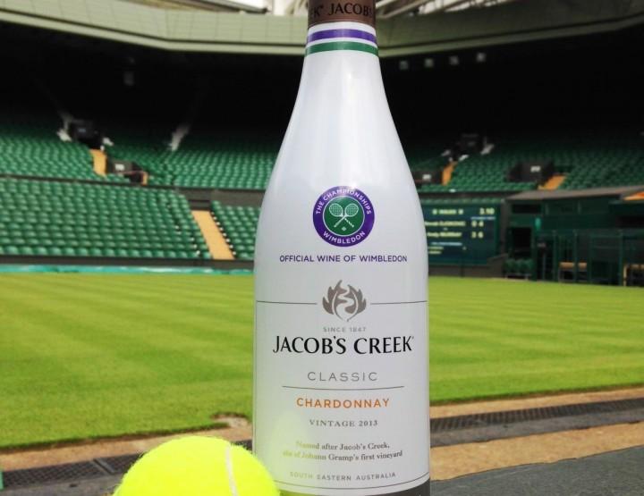 WIN one limited edition Wimbledon bottle Jacob's Creek Wine