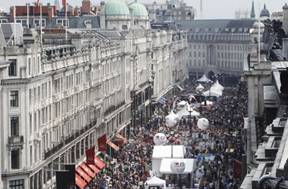 Love London Food Festival – Regent Street Event
