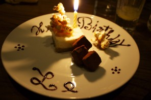 birthday surprises – Notting Hill Kitchen