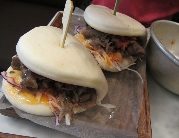 sink your teeth in and rip the meat - On The Bap
