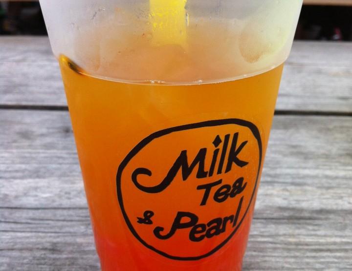 Fantastic bubble tea flavours - Milk Tea & Pearl