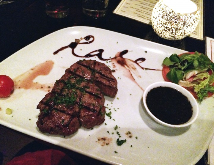 so juicy it burst in your mouth - Rare Steakhouse