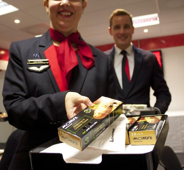 NEW Qantas Economy flight menu