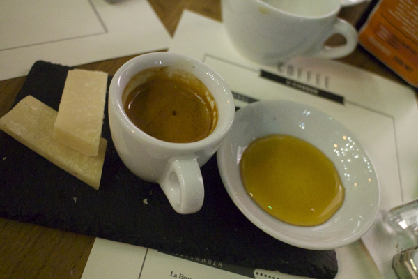 Cheese and coffee tasting - Notes