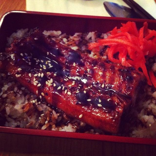 Grilled eel #foodporn #foodpics #japanese