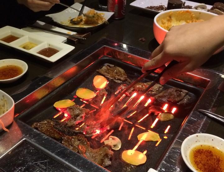 Meat overload - Kalbi Korean BBQ