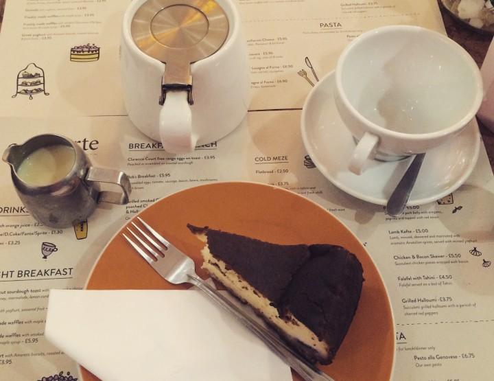 Cafe Tarte - the hidden gem in High Street Kensington