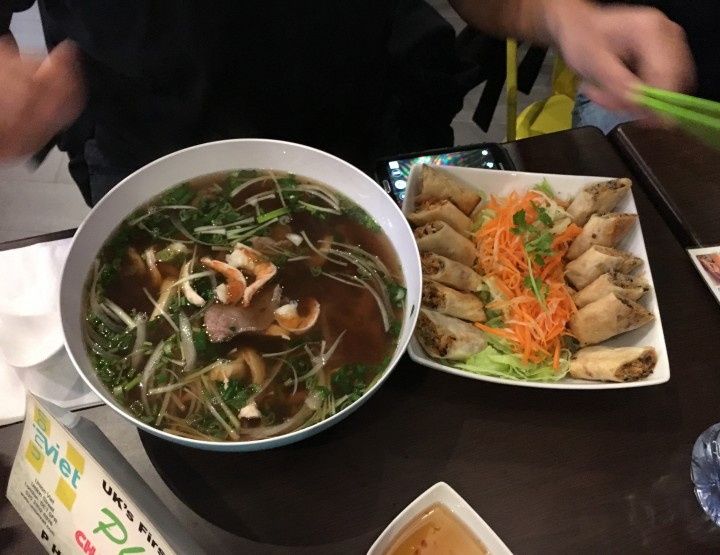 Viet Union - UK's first Pho Challenge