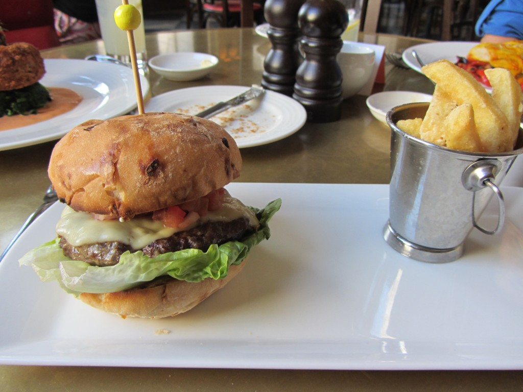 the villandry burger