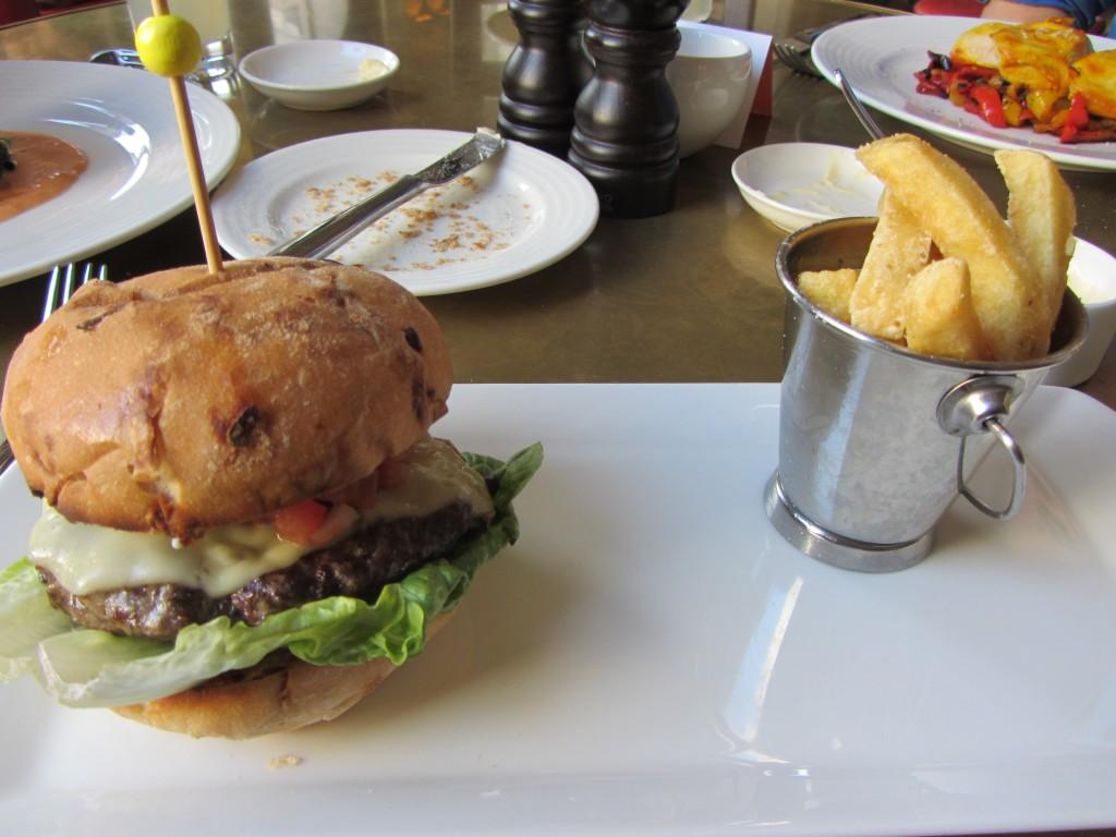 the villandry burger