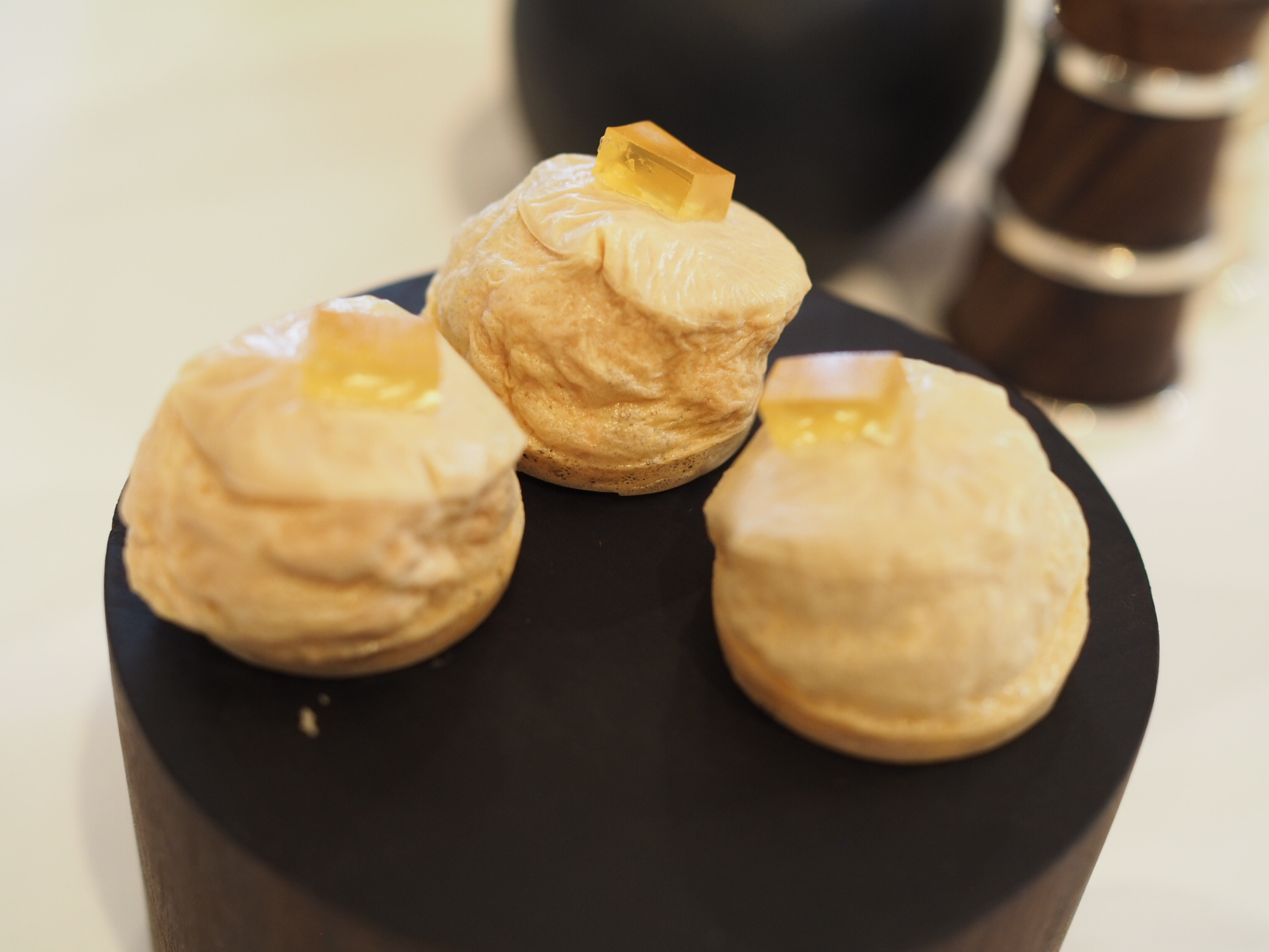 Foie-Gras-Puff-with-Mead-Jelly