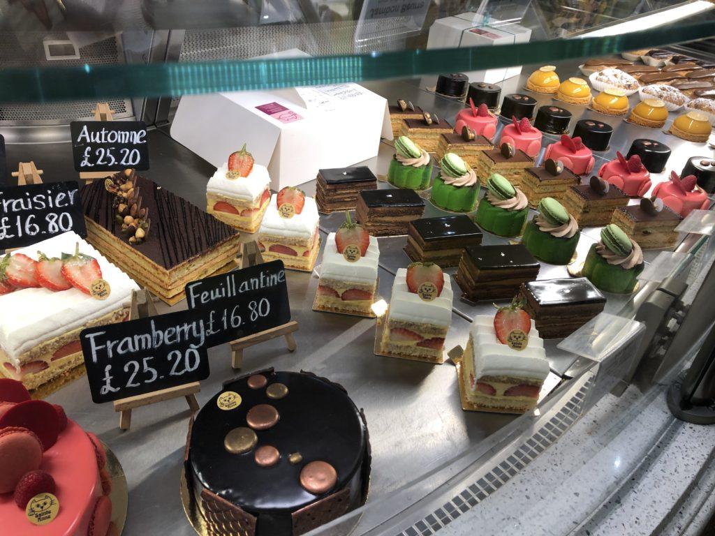 Patisserie Sainte Anne cakes