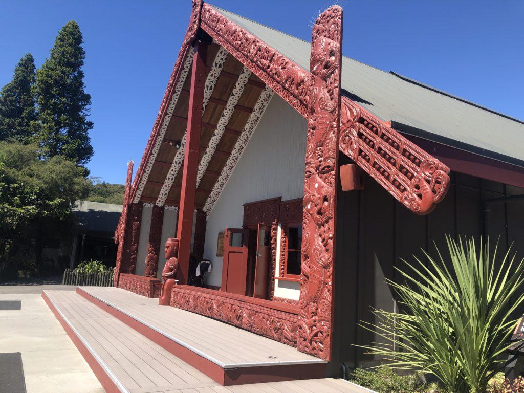 Māori village