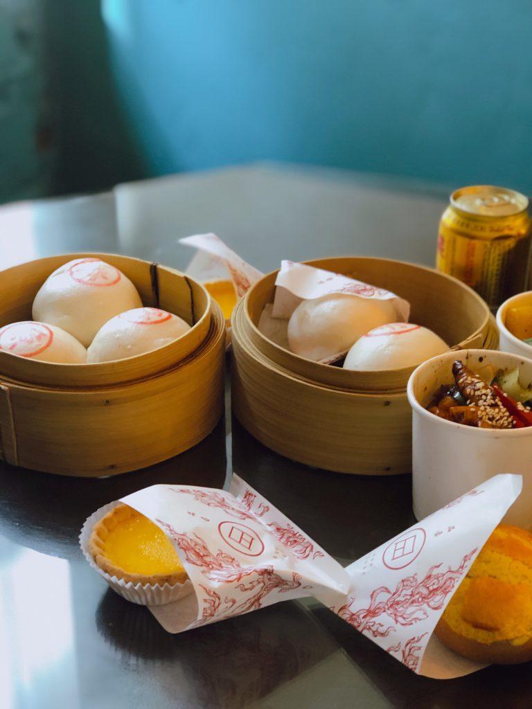 Bun House food on table