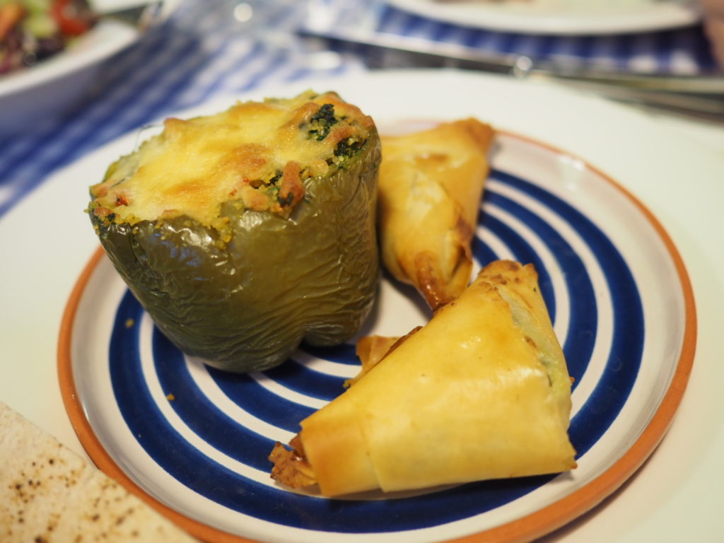 Stuffed Tomato and Peppers