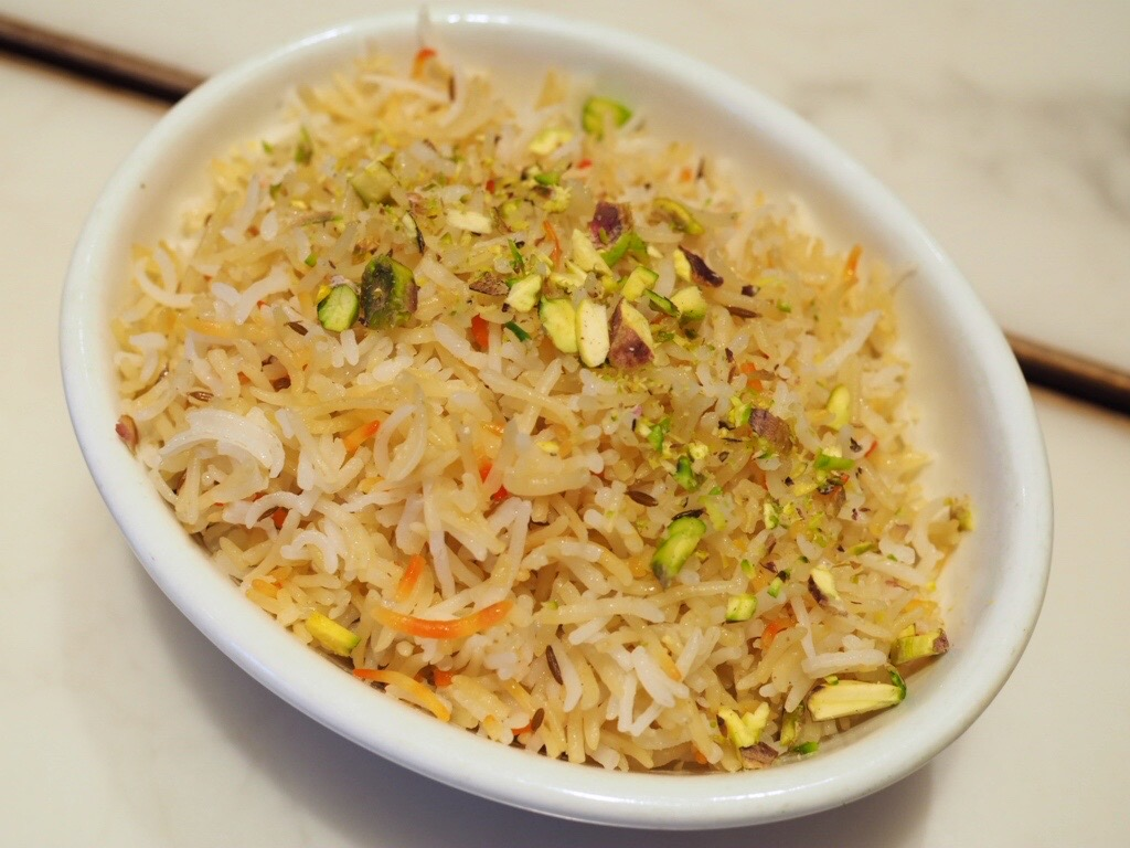 Kaffir Lime Leaf Flavoured First Grade Basmati Rice & Pistachio
