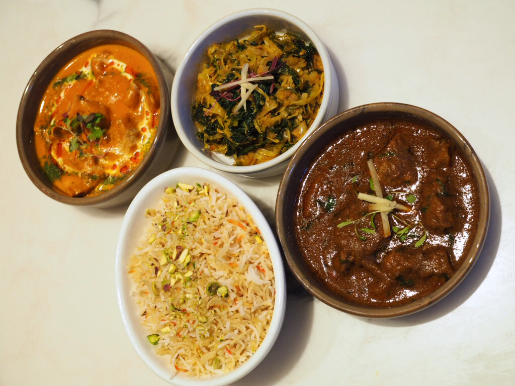 curries and sides