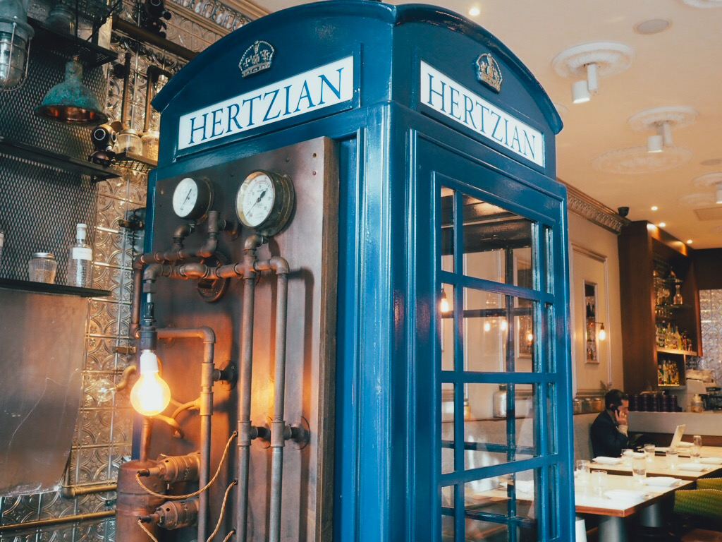 hertizan blue phonebox