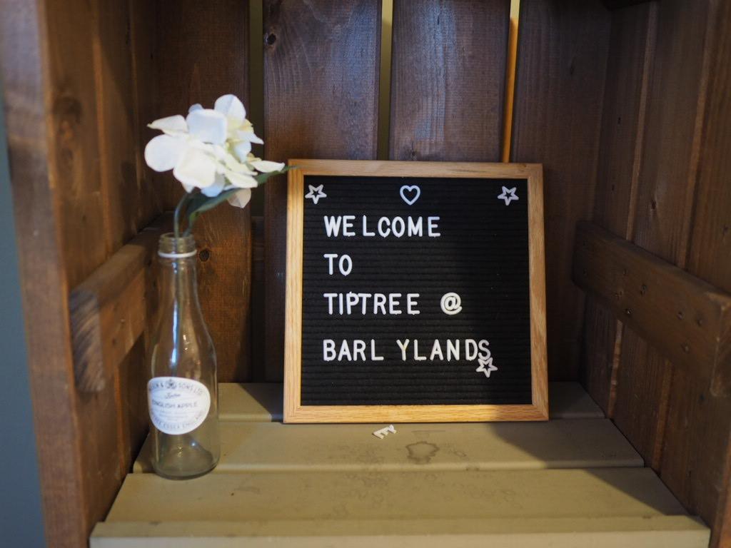 Tiptree Barleylands sign