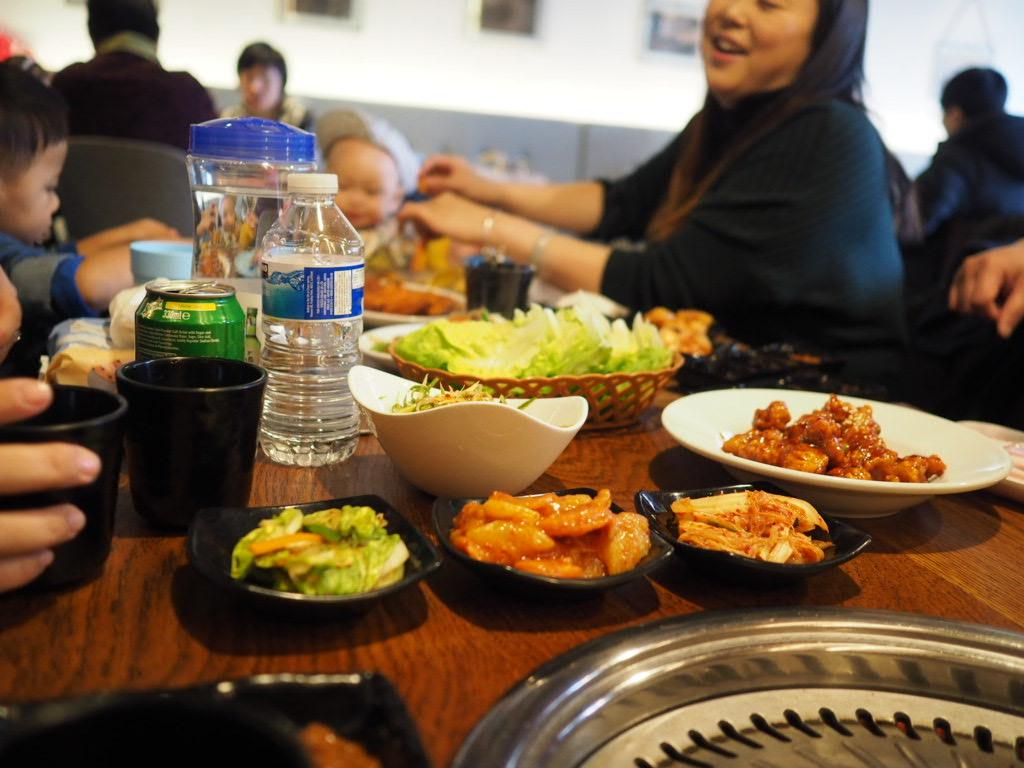 banchan The Tree Stone restaurant
