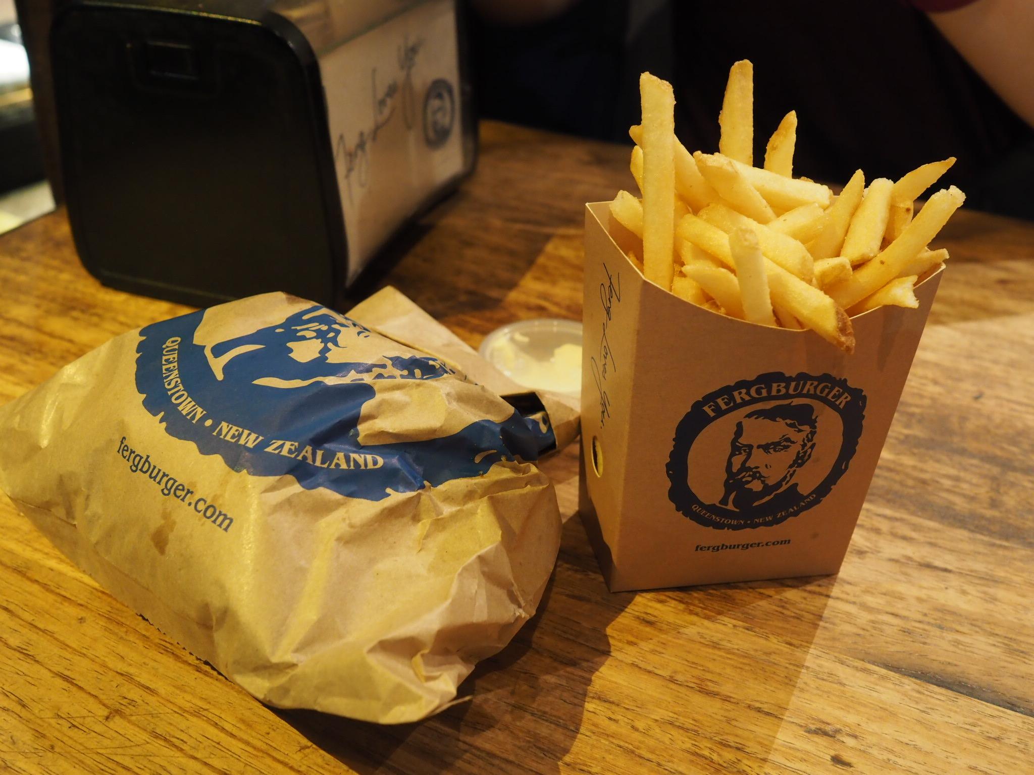 Fergburger fries