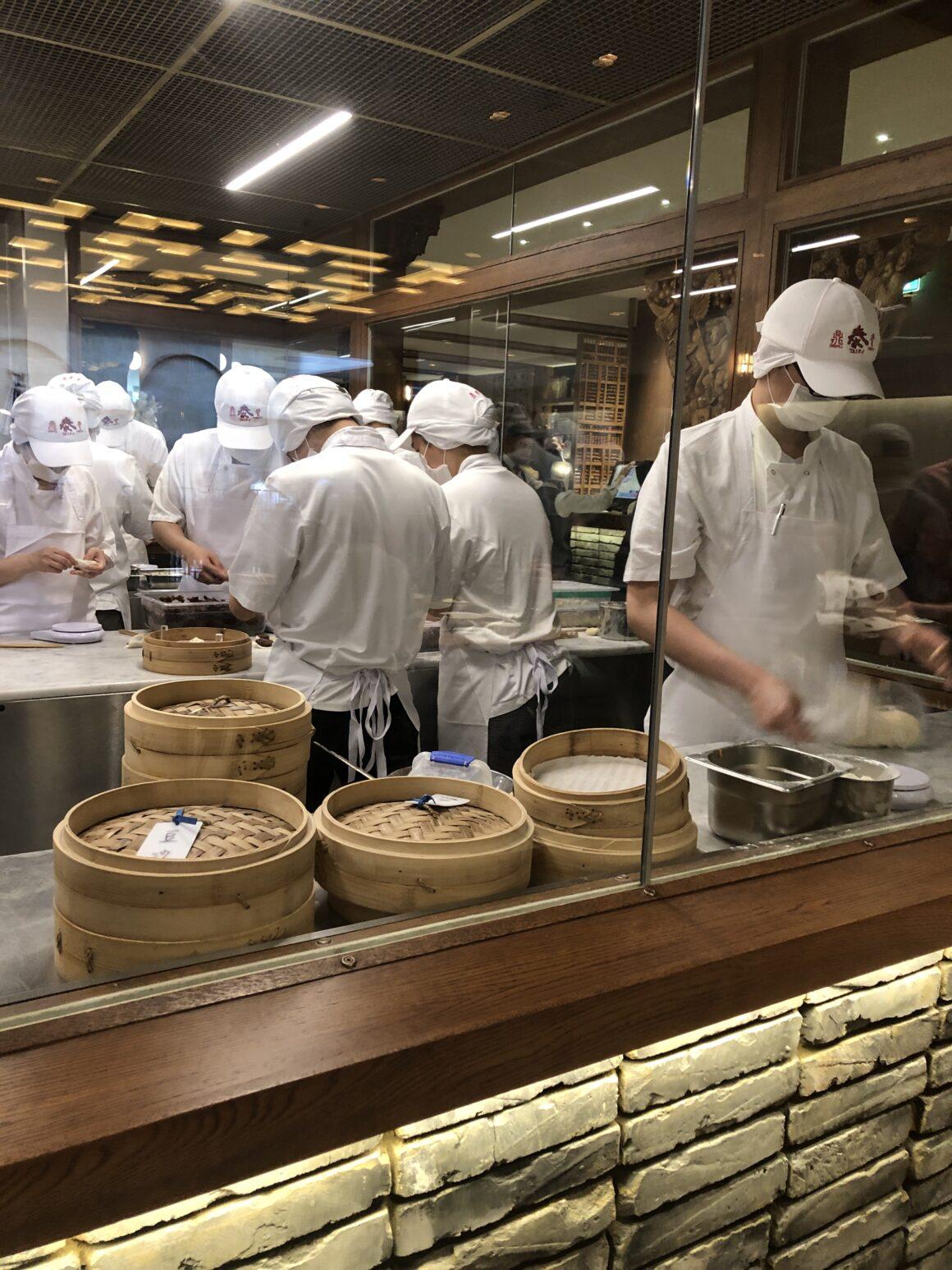 dumpling makers Din Tai Fung