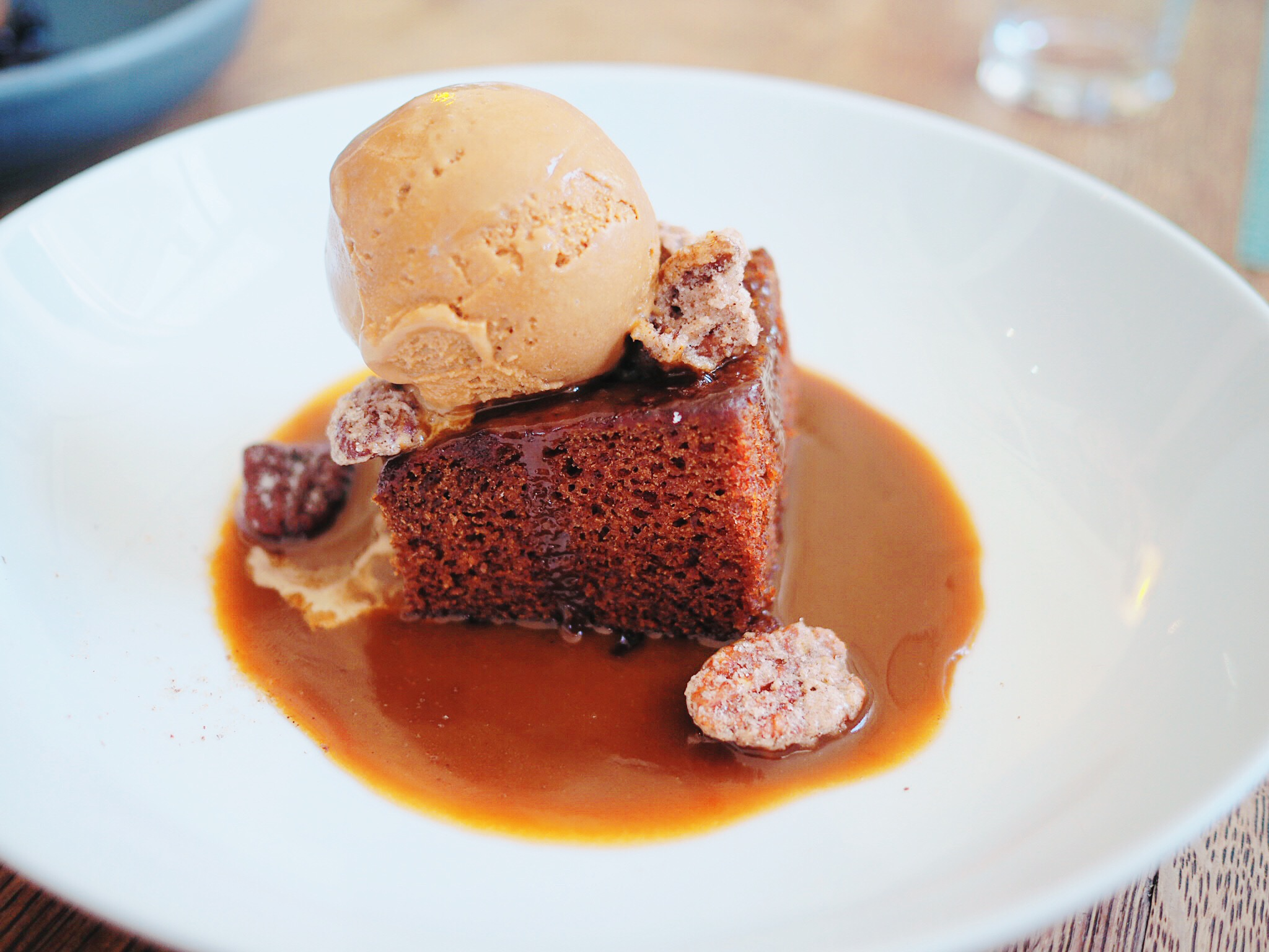 The Sun Sticky toffee pudding