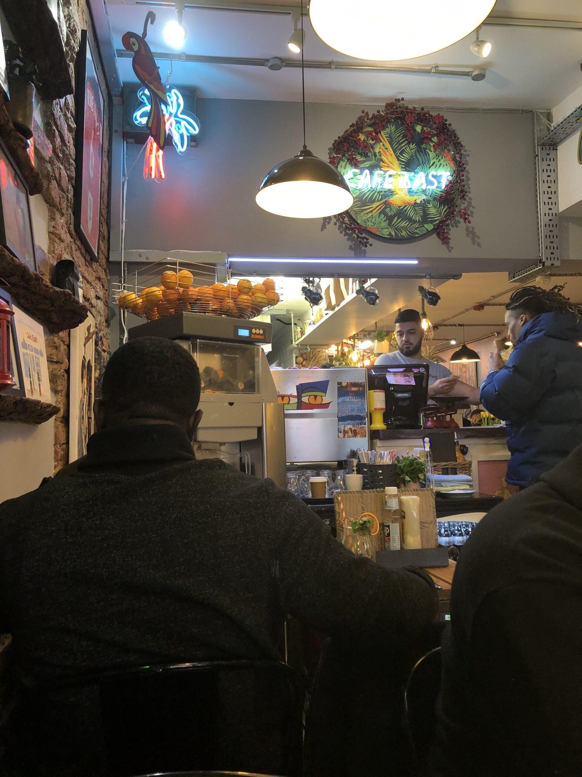 interior Cafe east