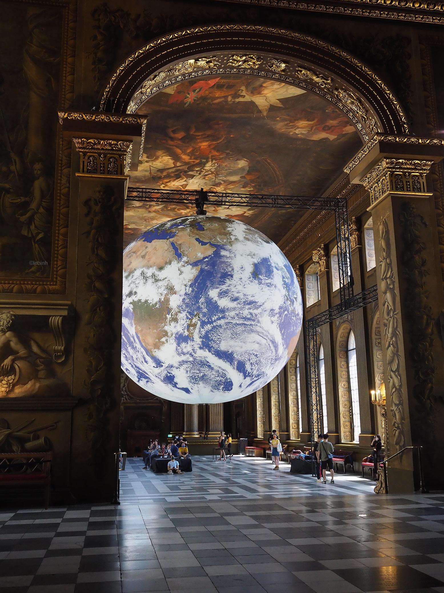 Gaia 2021 at Painted Halls Old Royal Naval Greenwich photography by Lebinh
