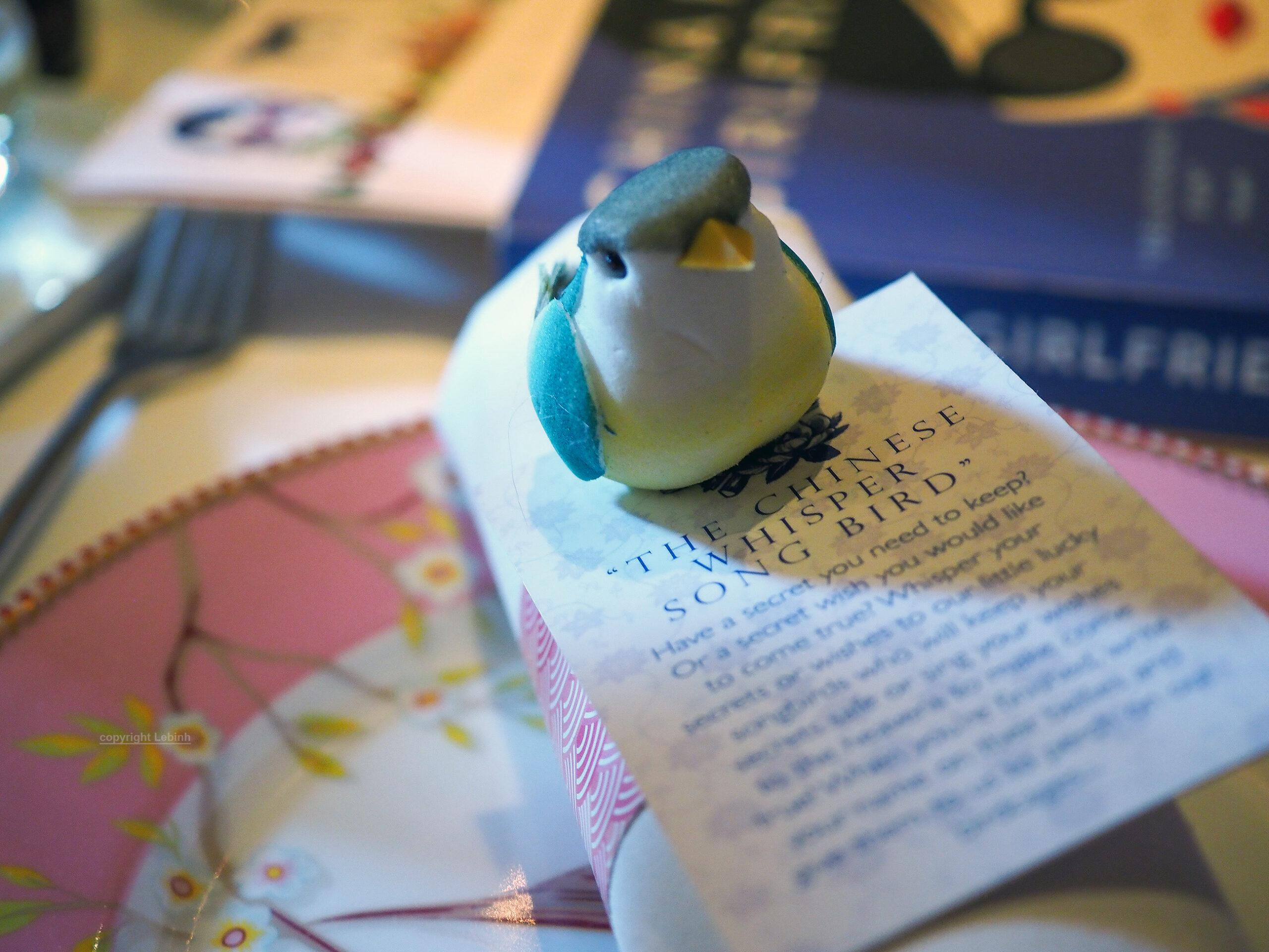 The Chinese Whisper Songbird