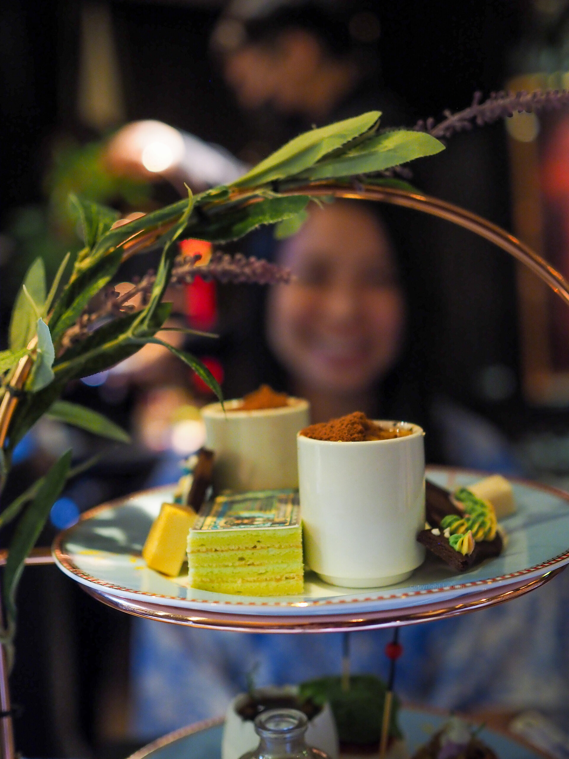 The Chinese Whispers Afternoon tea Kai Mayfair