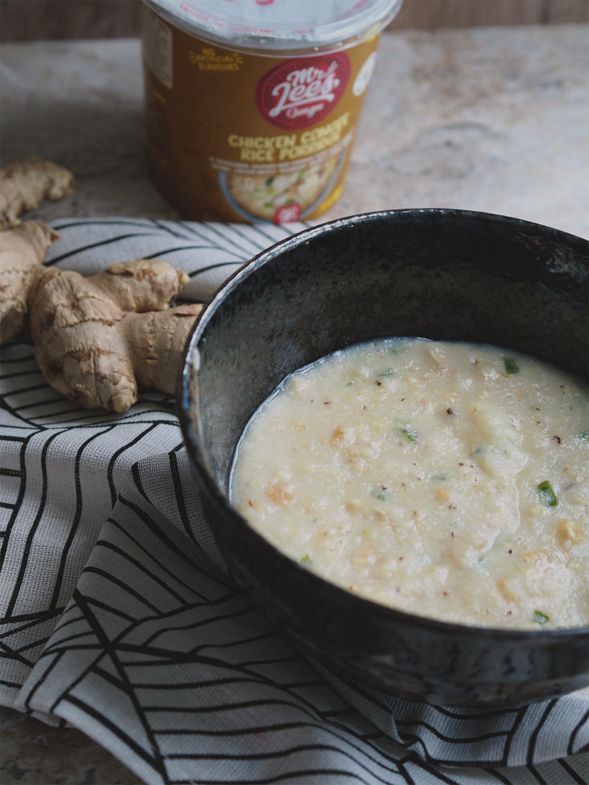 Mr Lees chicken rice congee porridge